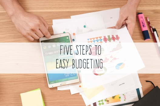 five steps to easy budgeting